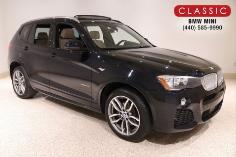 Certified Pre-Owned 2017 BMW X3 28I XDRIVE