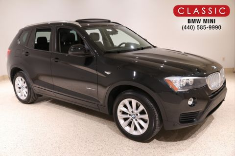 Certified Pre-Owned 2017 BMW X3 XDRIVE28I SPORT